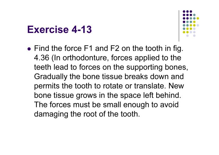 Exercise 4-13