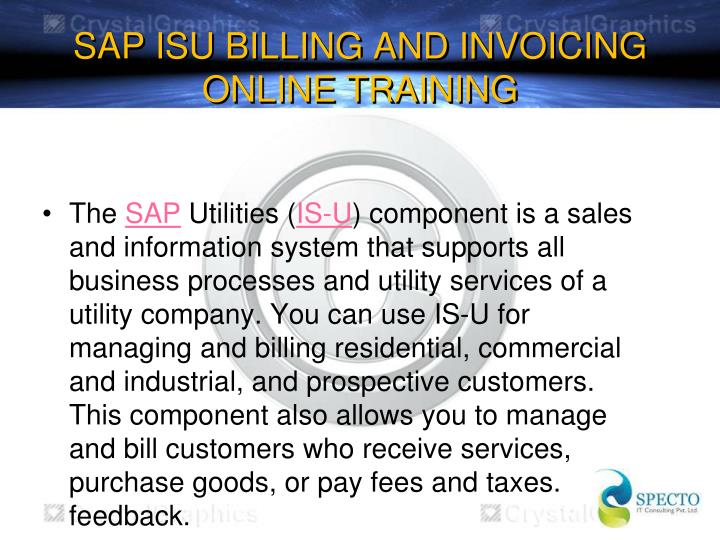 Sap isu billing and invoicing online training1