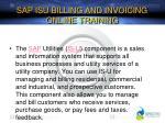 sap isu billing and invoicing online training1
