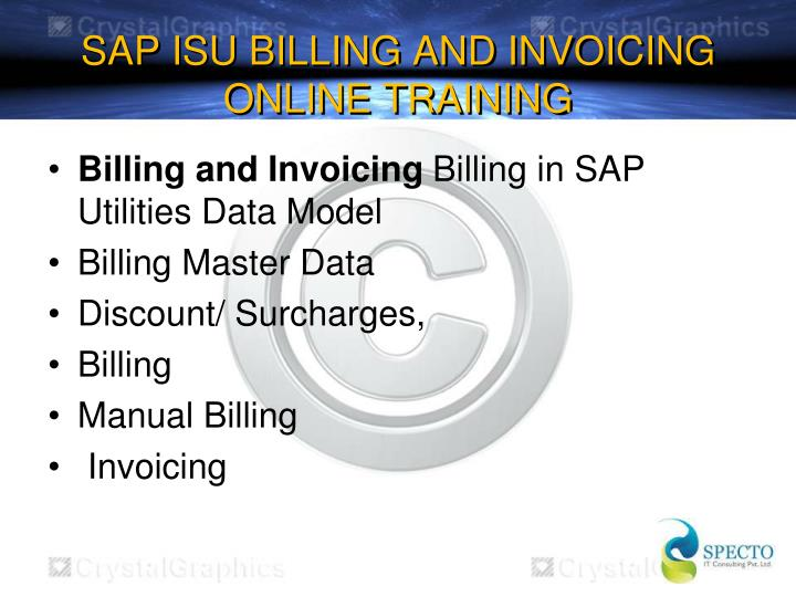 Sap isu billing and invoicing online training2