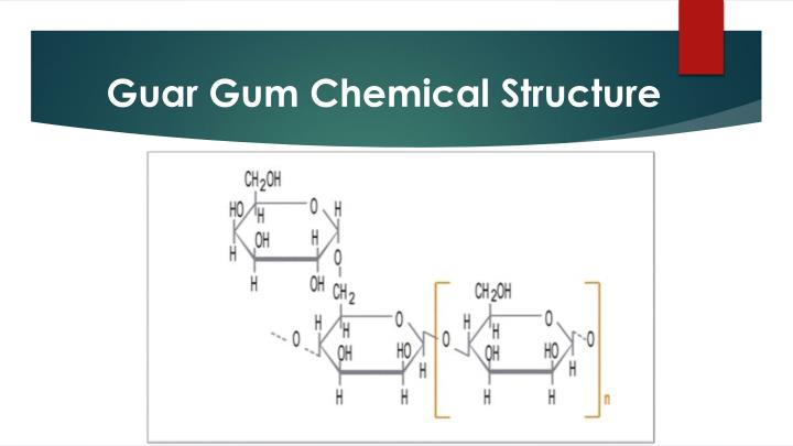 Guar Gum Chemical Structure