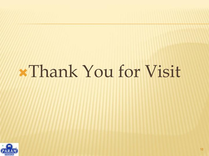 Thank You for Visit