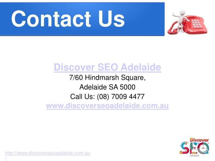 Discover SEO Adelaide