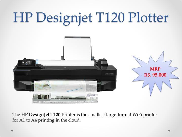 HP Designjet T120 Plotter
