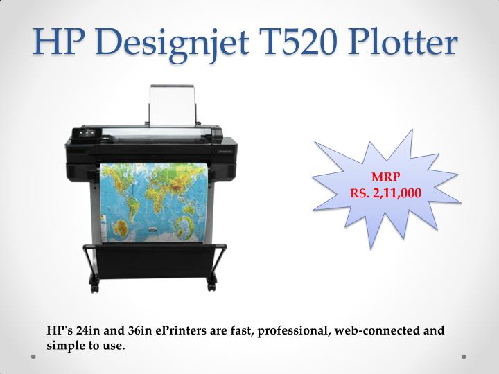 HP Designjet T520 Plotter