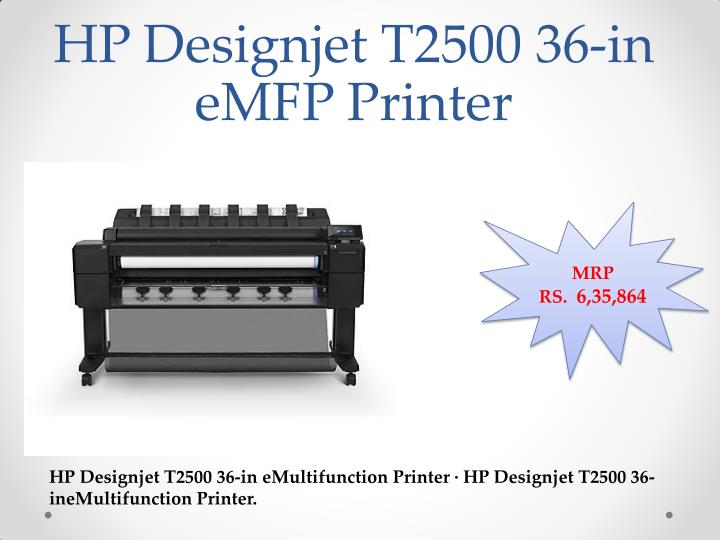 HP Designjet T2500 36-in