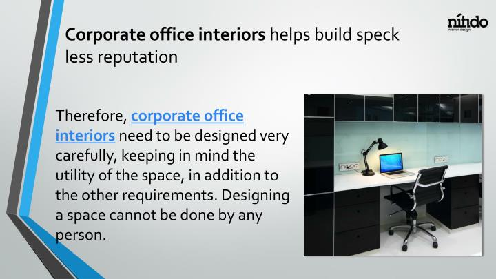 Corporate office interiors