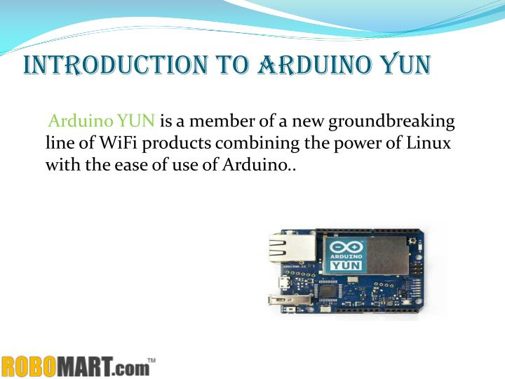 Introduction to arduino yun