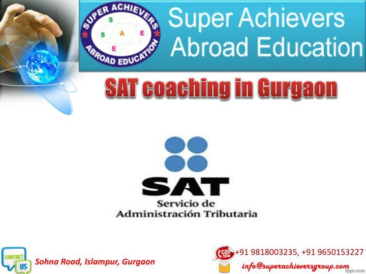 SAT coaching in Gurgaon