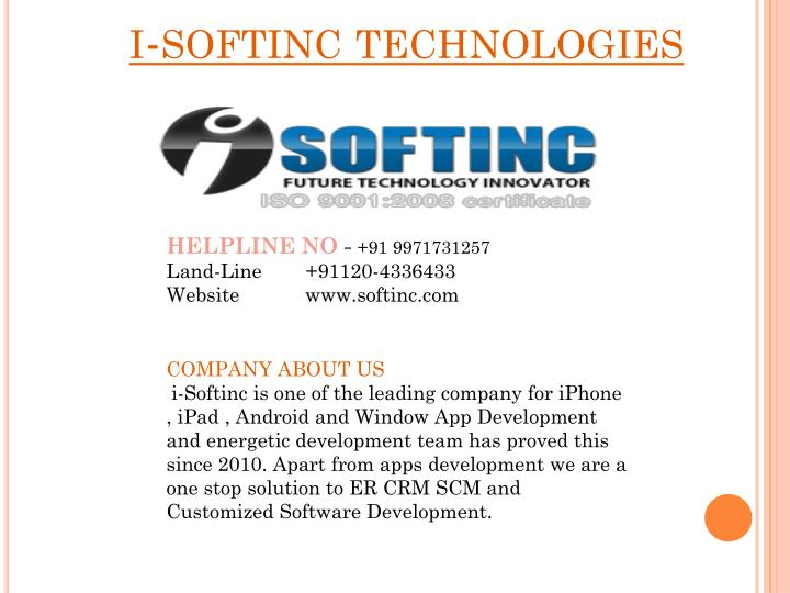 I softinc technologies