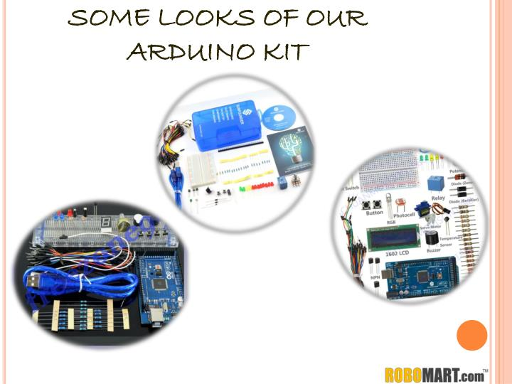 SOME LOOKS OF OUR ARDUINO KIT