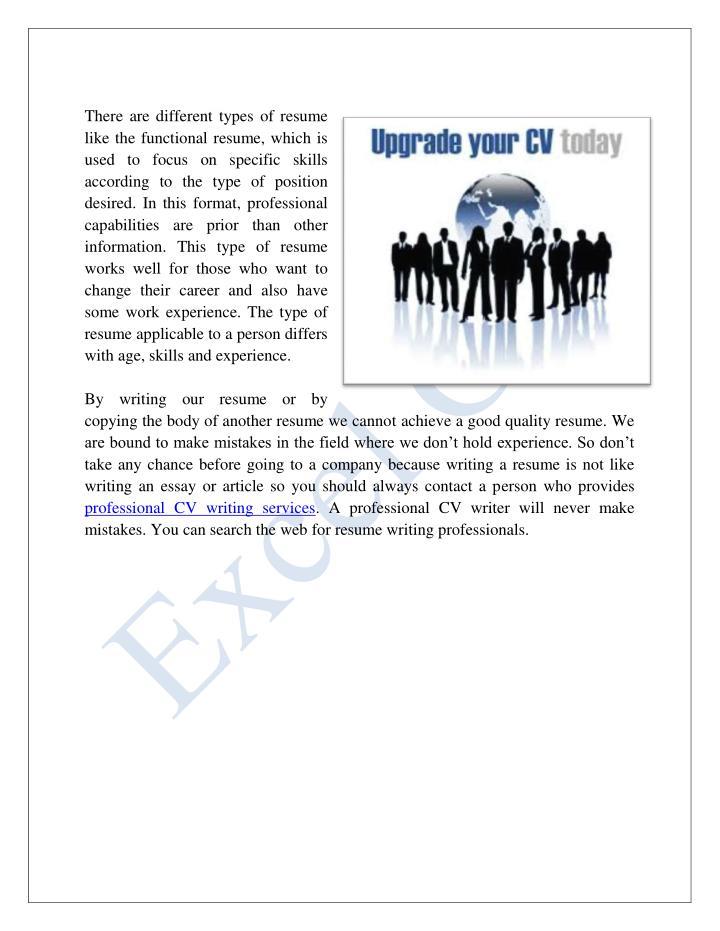 Cv writing services india