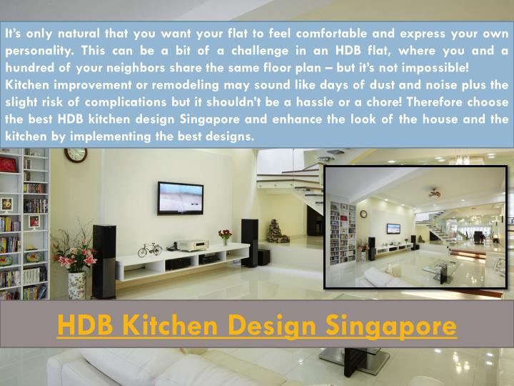 HDB Kitchen Design Singapore