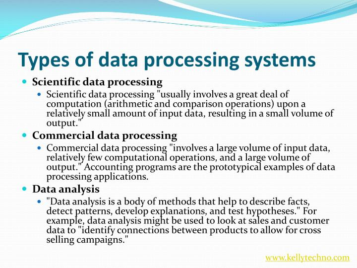 Data Processing System : Ppt data science training in hyderabad
