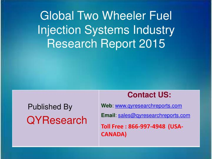 Global Two Wheeler Fuel