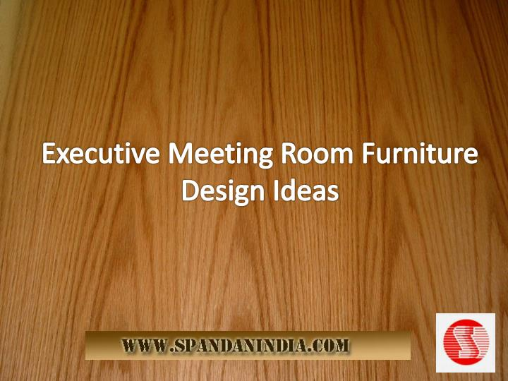 Executive Meeting Room Furniture