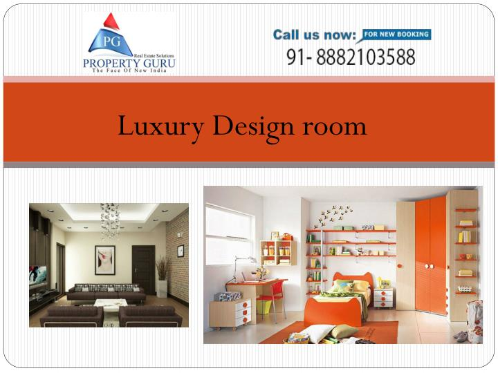Luxury Design room