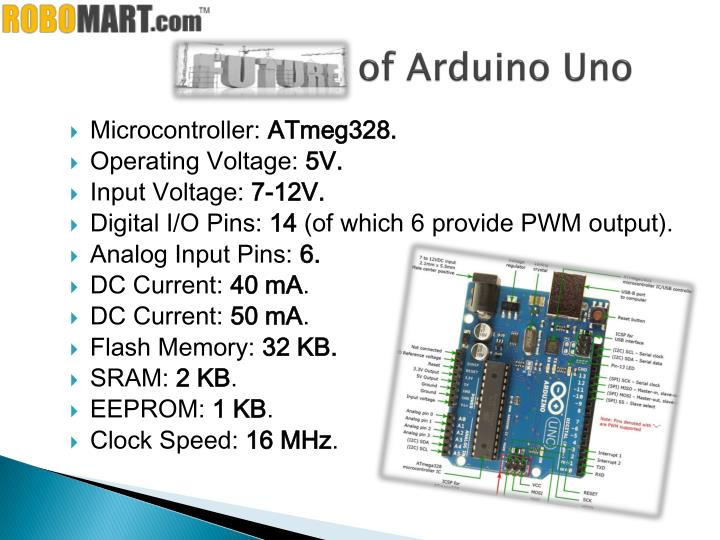 Ppt buy arduino board in delhi by robomart powerpoint
