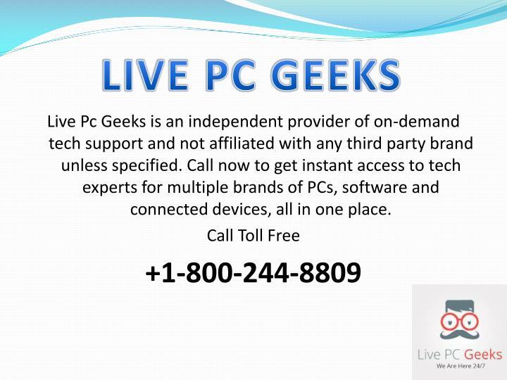 LIVE PC GEEKS