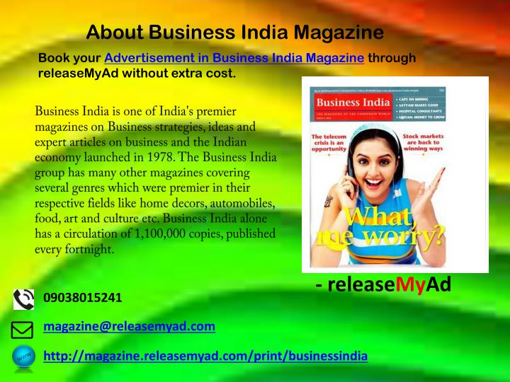 About Business India Magazine