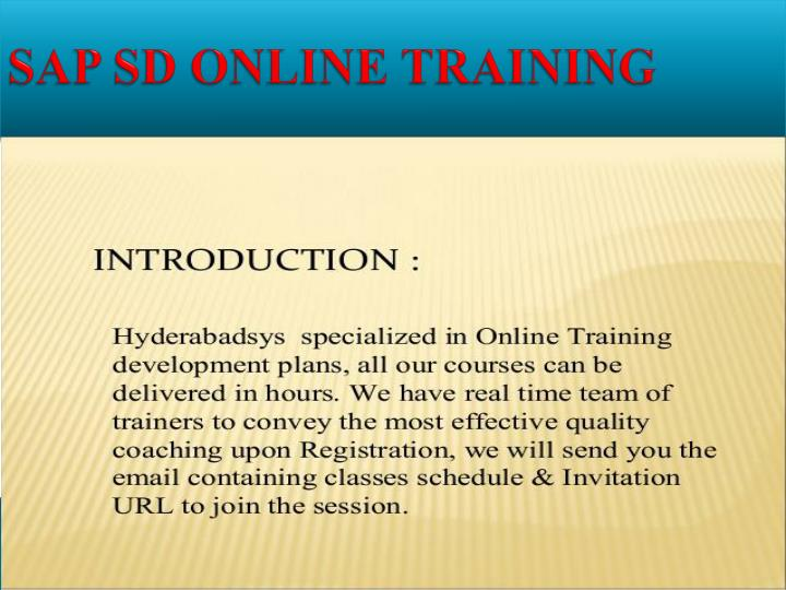 Sap sd online training1