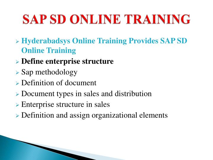 Sap sd online training2