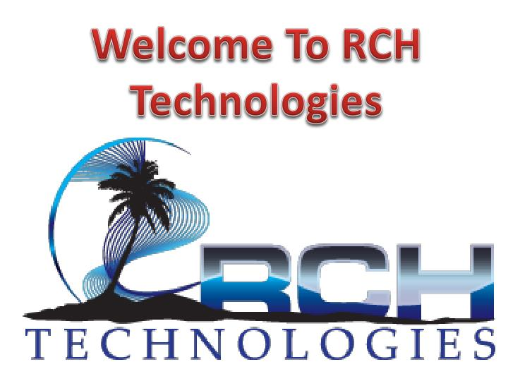 Welcome To RCH