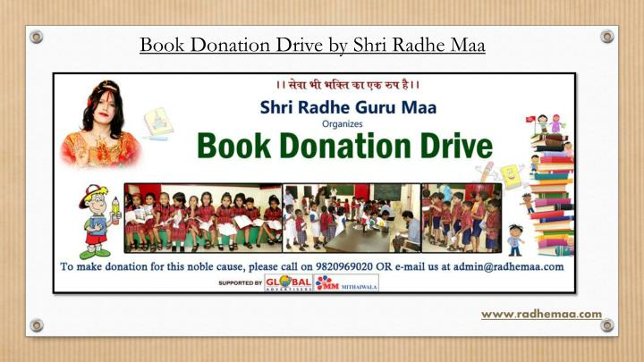 Book Donation Drive by Shri