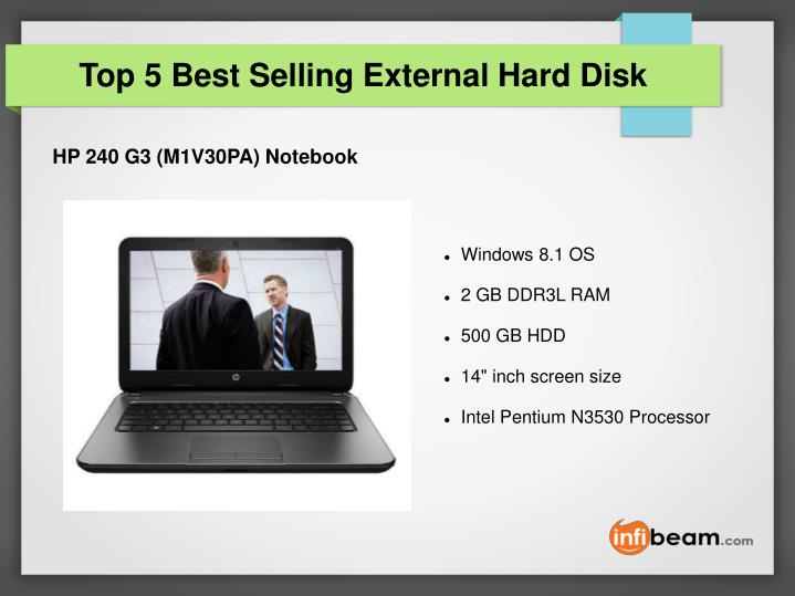 Top 5 Best Selling External Hard Disk
