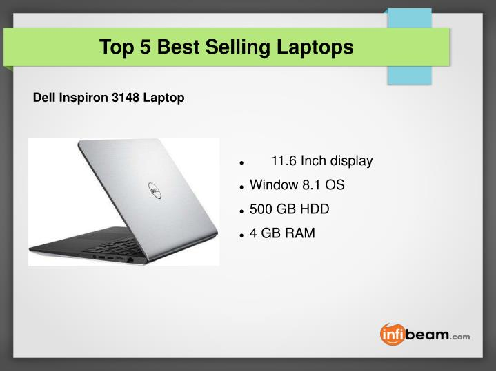 Top 5 best selling laptops1