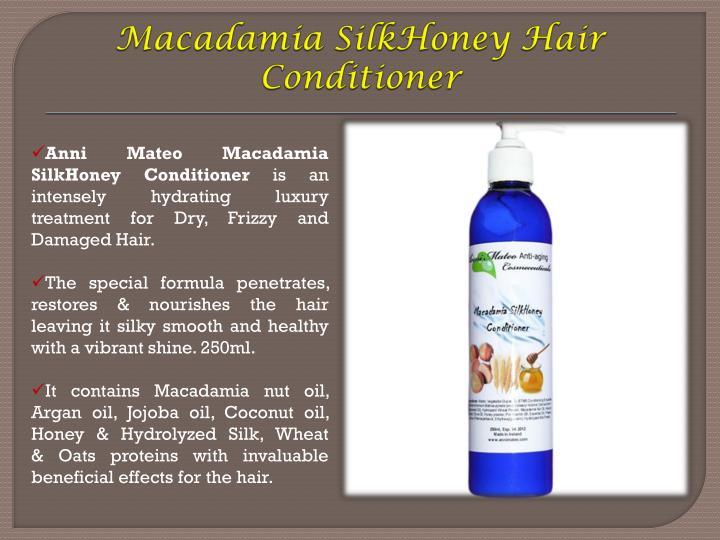 Macadamia SilkHoney Hair Conditioner