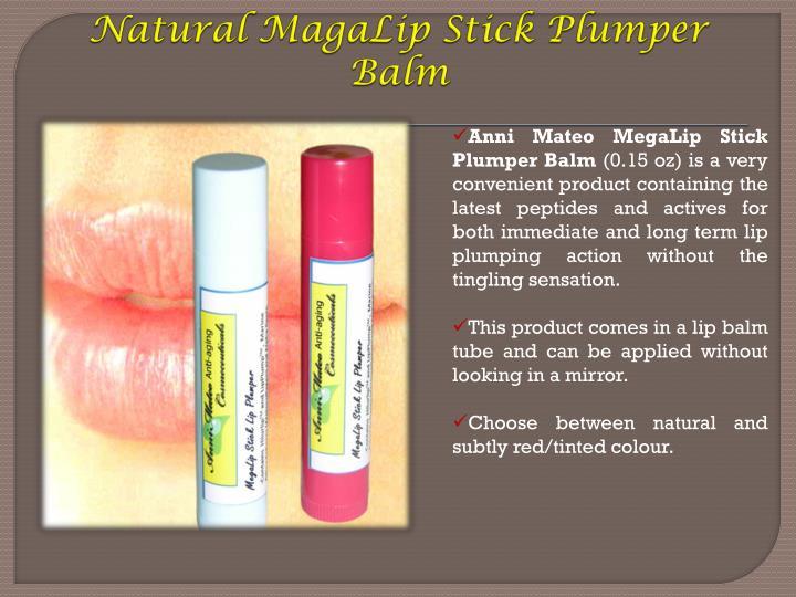 Natural MagaLip Stick Plumper Balm