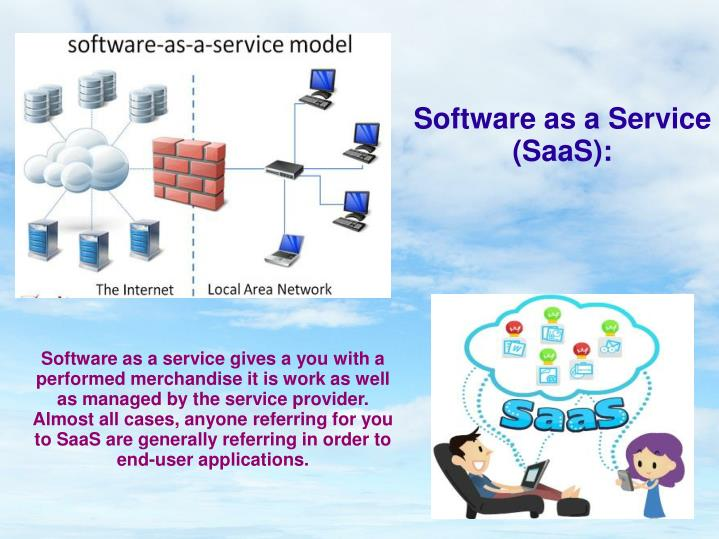 Software as a Service (SaaS):