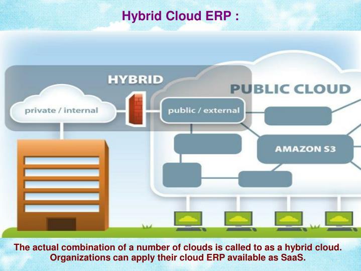 Hybrid Cloud ERP :
