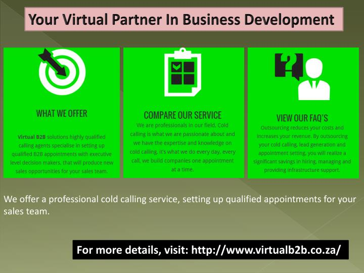 Your Virtual Partner In Business Development
