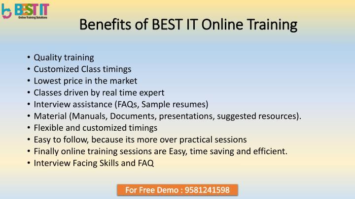 ppt - hadoop online training in india - best it powerpoint presentation
