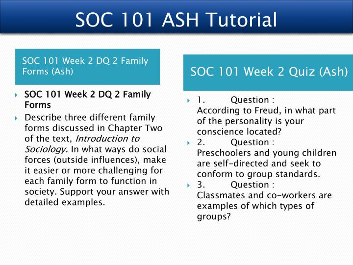 soc 101 final paper Sociology is a comparatively new subject for many students, so choosing sociology essay topics and writing sociology essays can be rather challenging keep in mind that sociology is an empirical science, and all sociological papers (including your essay) should be based on thorough research and rigorous documentation.