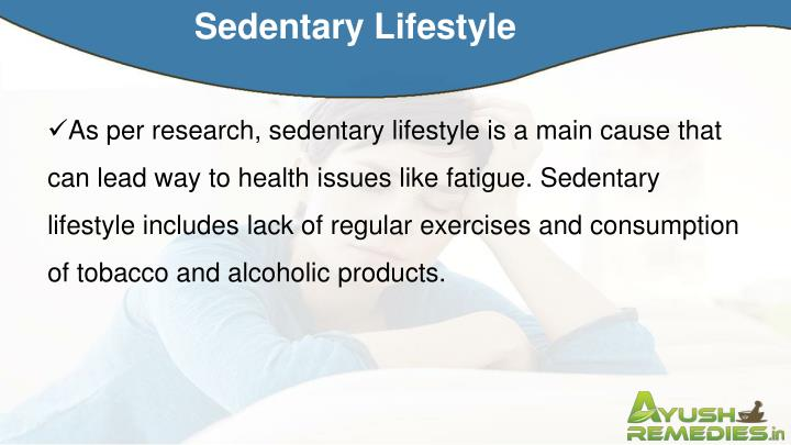 Sedentary Lifestyle