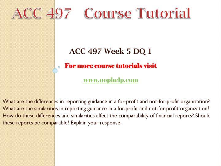 ACC 497