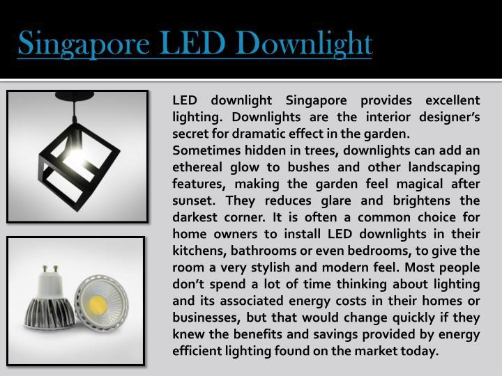 Singapore LED Downlight