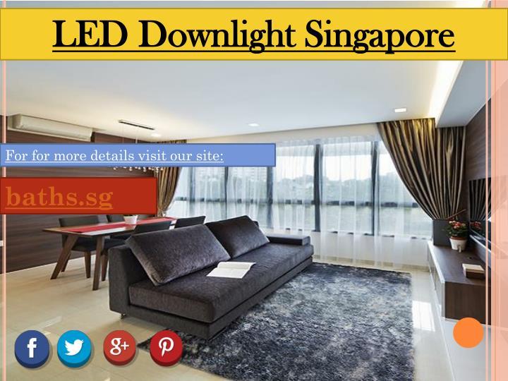 LED Downlight Singapore