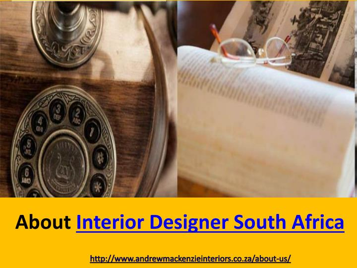 About Interior Designer South Africa