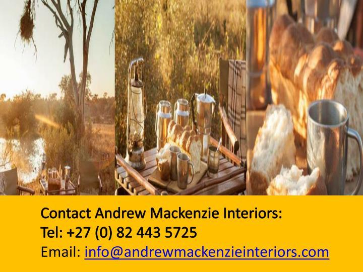 Email: info@andrewmackenzieinteriors.com