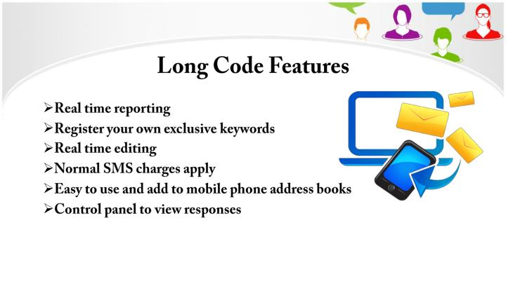 Long Code Features