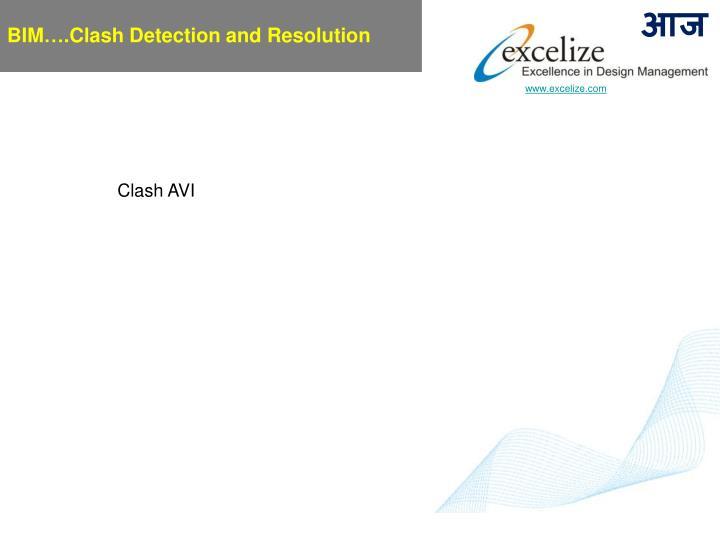 BIM….Clash Detection and Resolution