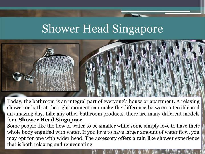 Shower Head Singapore