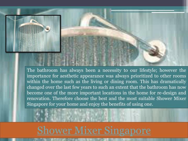 Shower Mixer Singapore