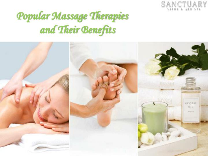 Popular Massage Therapies
