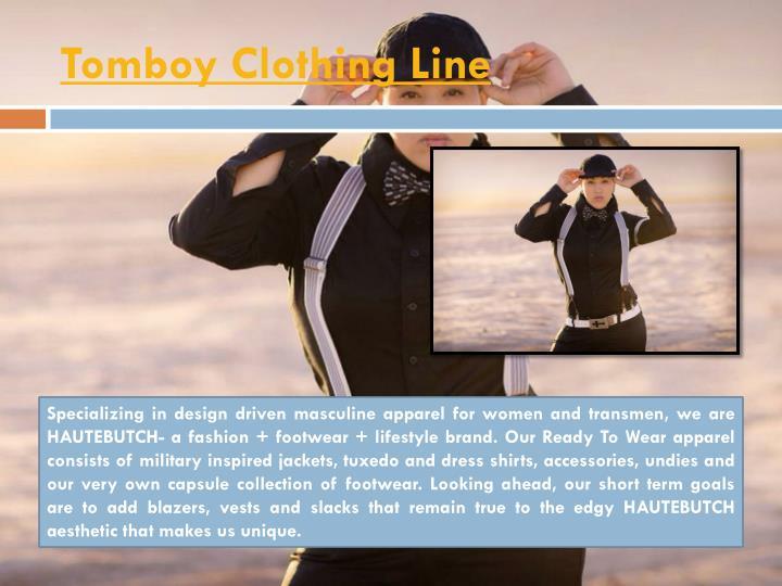 Tomboy Clothing Line