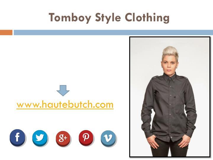 Tomboy Style Clothing